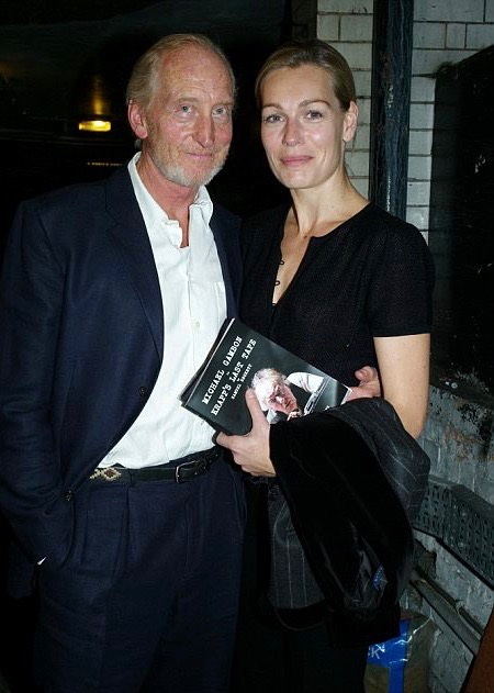 Actor, Charles Dance and his artist wife, Eleanor Boorman