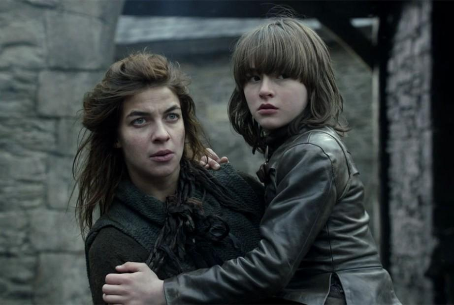 Game of Thrones actress, Natalia Tena and Isaac Hempstead Wright.