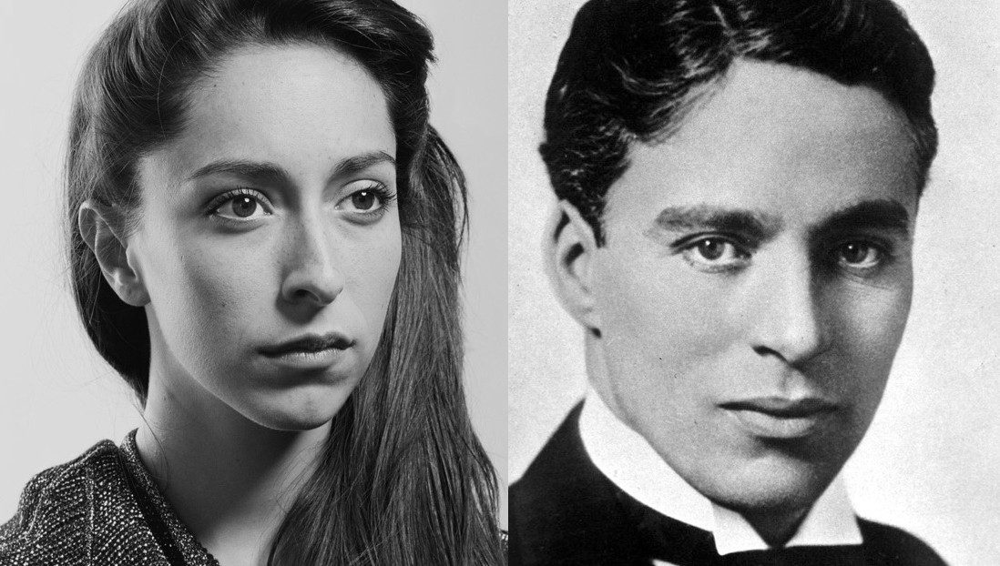 Game of Thrones actress, Onna Chaplin and her grand father, Charlie Chaplin.