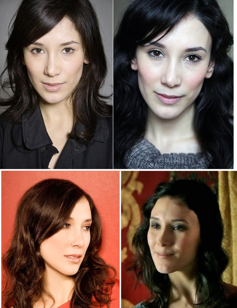 Game Of Thrones actress, Sibel Kekilli photos.