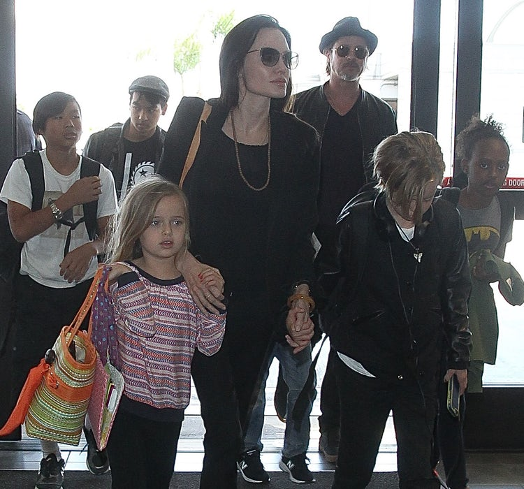 Angelina Jolie and Brad Pitt kids
