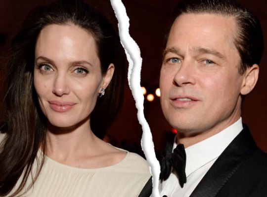 Angelina filed for divorce from Brad Pitt