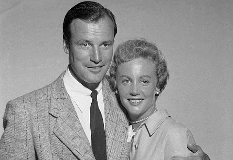 Carol Lee Ladd and Richard Anderson