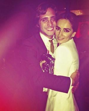Former boyfriend and girlfriend, Diego Boneta and Ana de la Reguera.
