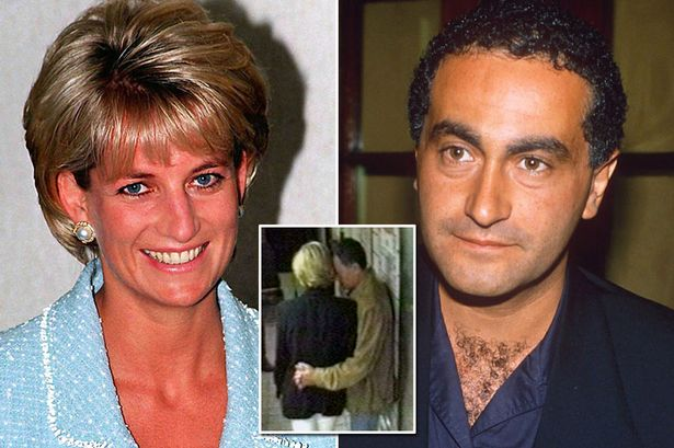 Dodi Fayed and Diana