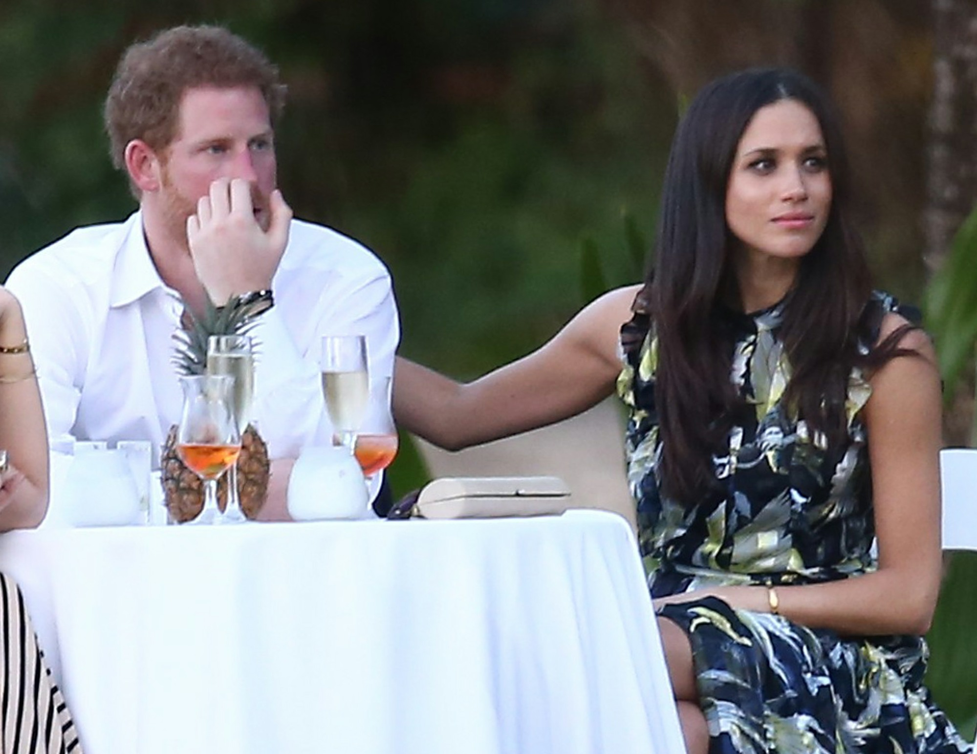 Prince Harry And Meghan Markle Attend A Wedding In Jamaica