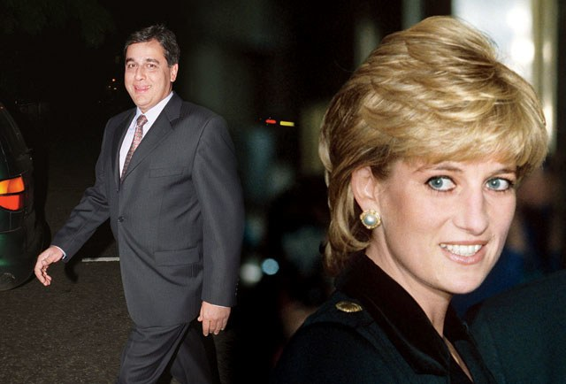 Hasnat Khan and Princess Diana
