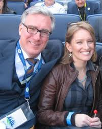 Katy Tur with her ex-boyfriend Keith Olbermann
