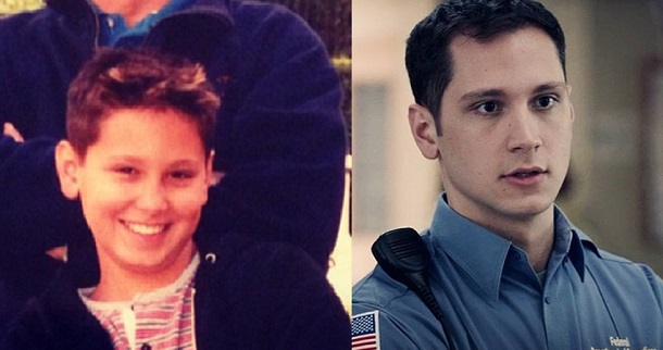 Matt McGorry during his young age.