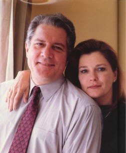 Kate Mulgrew and her former husband, Tim Hagan.