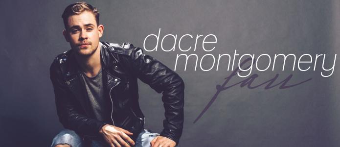 Power Ranger actor, Dacre montgomery