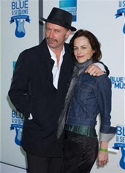 Husband and wife, Xander and Sarah.