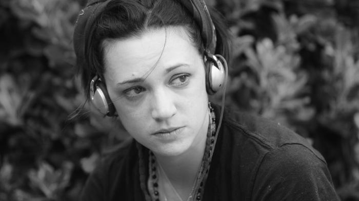 Asia Argento's young age photo.