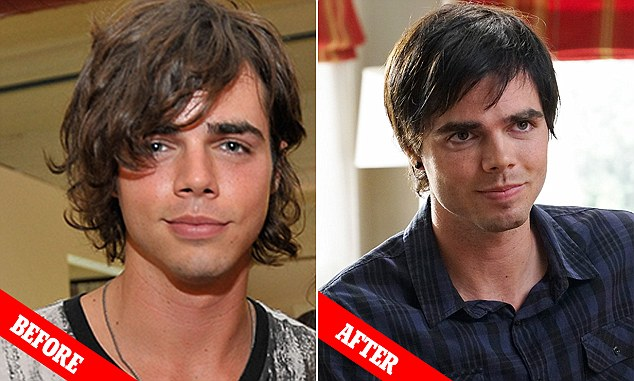 American actor, Reid Ewing earlier photo.