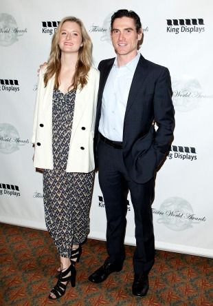 Former girlfriend and boyfriend, Grace Gummer and Billy Crudup.