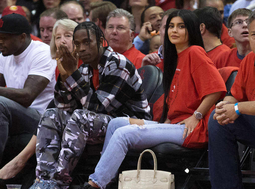 Kiley Jenner and Travis Scott