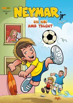 Neymar Jr's Comic Character
