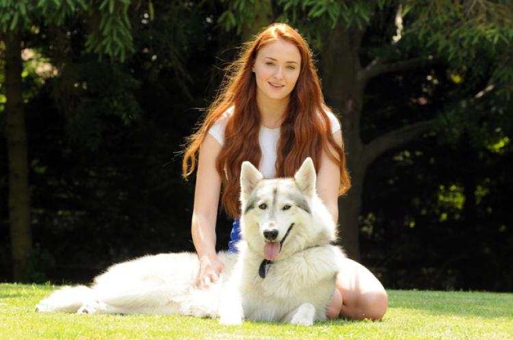 Sophie Turner with Zunni