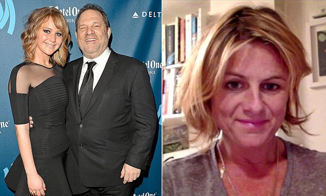 Zelda Perkins and Harvey Weinstein
