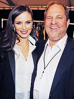 Wife and Husband, Georgina Chapman and Harvey Weinstein.