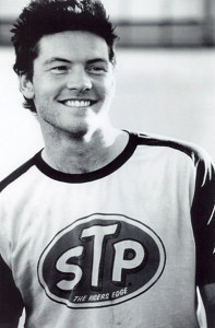 English-Australian actor, Sam Worthington young age photo.