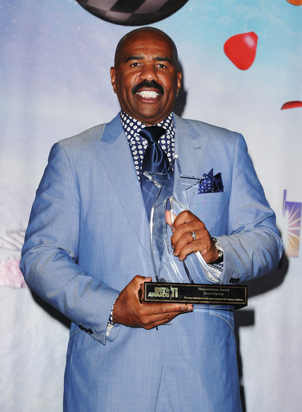 Steve Harvey in BET award